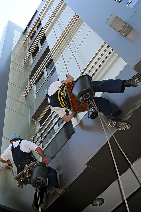 Facade Cleaning- Glass Cleaning Services